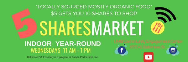 5 Shares Market Letterhead